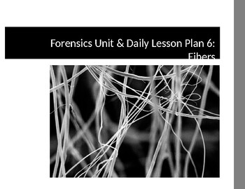 Forensics Unit/Daily Lesson Plan 6:  Fibers