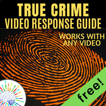 Forensics Files worksheet - works with ANY Forensic Files or True Crime video
