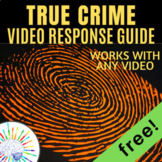 Forensics Files worksheet - works with ANY Forensic Files