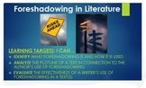 Foreshadowing: ELA Common Core PPT with Digital Examples +