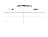 Foreshadowing/Flashback graphic organizer