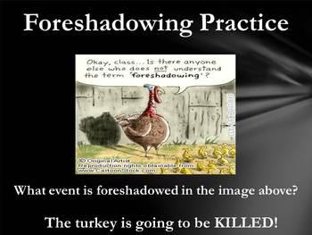 Foreshadowing Presentation