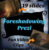 Foreshadowing Prezi Now with Handout!