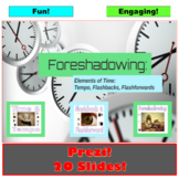 Foreshadowing : Prezi Presentation Questions and Notes
