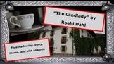 """Foreshadowing, irony, plot analysis, and theme writing: """"The Landlady"""""""