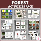 Forest Activities Montessori Bundle