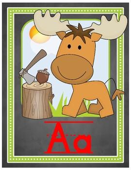 Forest Alphabet Line