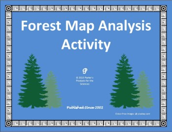 Forest Analysis Map Interpretation Activity for Ecology & Environmental Science