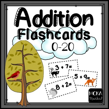 Forest Animal Addition Facts