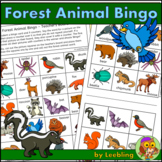 Forest Animal Bingo Game – Fun Woodland Activity