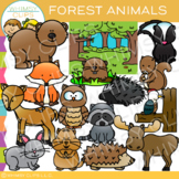 Woodland Forest Animal Clip Art