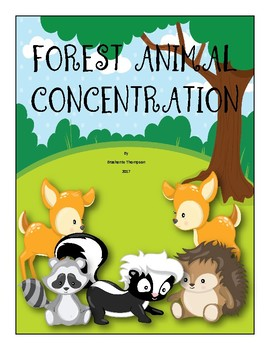 Forest Animal Concentration