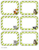 Forest Animal Editable Labels