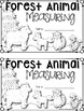 Forest Animal Measuring Book and Measurement Math Center