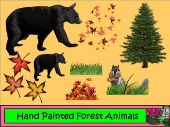 Forest Animal Pack 1