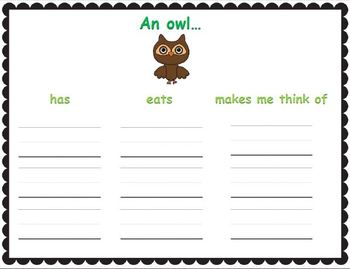"Forest Animal ""Write the Room"" and other Literacy Activities"
