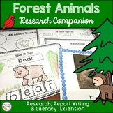 Forest Animals Activities- Research