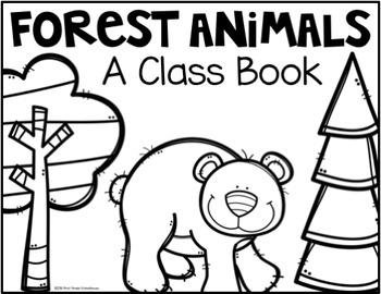Writing About Forest Animals Kindergarten