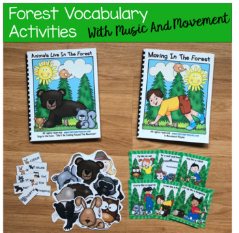 "Forest Animals Adapted Book--""Animals Live in the Forest"""