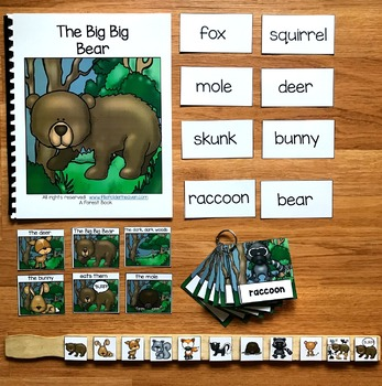 "Forest Animals Adapted Book--""The Big Big Bear"""