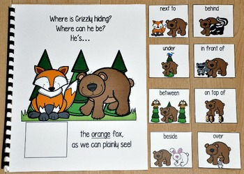 "Forest Animals Adapted Book--""Where is Grizzly Hiding?"""