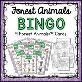 Forest Animals Bingo