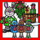 Forest Animals Christmas Clip Art Set - Chirp Graphics