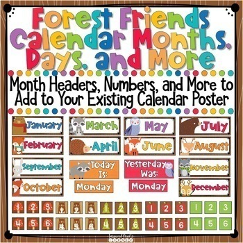 Forest Animals Classroom Decor Bundle