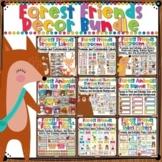 Woodland Animals Forest Themed Classroom Decor Bundle