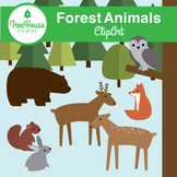 Forest Animals Clip Art