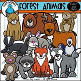 Forest Animals 1 Clip Art Set - Chirp Graphics