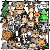 Forest Animals Clipart Bundle