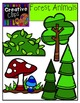 Forest Animals Clipart {Creative Clips Clipart}