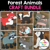 Forest Animals Crafts Bundle