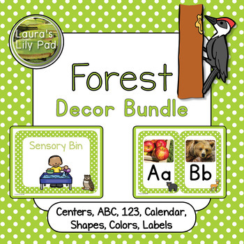 Forest Animals Decor Bundle
