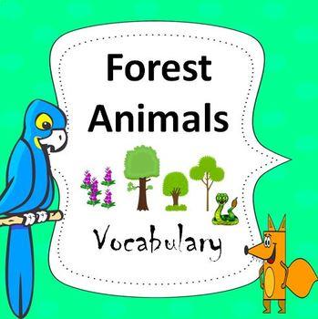 Forest Animals Essential Vocabulary Through Fun Activities