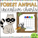 Incentive Charts with a Forest Animal Theme