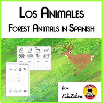 Forest Animals - Los animales dle bosque - Activity Pack