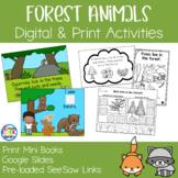 Forest Animals Mini Books