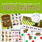 Forest Animals - Mini Preschool Language Unit