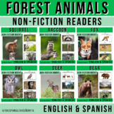 Forest Animals BUNDLE Non-Fiction Spanish Readers