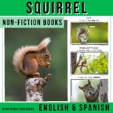 Forest Animals Non-Fiction Spanish Readers - La Ardilla  The Squirrel