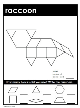 Forest Animals Pattern Block Mats