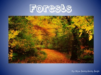 Forest Animals PowerPoint