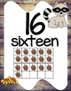 Forest Animals Room Decor Numbers Posters 1 to 20