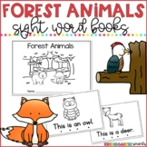 Forest Animals Sight Word Books