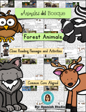 Forest Animals (Spanish). Close Reading