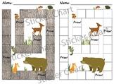 Forest Animals Sticker/Behavior Chart
