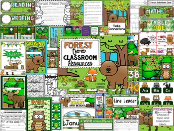 Forest Animals Theme Decor Pack