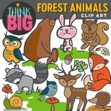 Forest Animals by Think Big Digital Clip Art